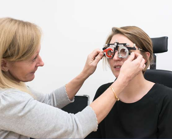 Complete range of vision correction solutions
