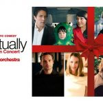 Love Actually in Concert at the Usher Hall, competition with Laser Vision Scotland